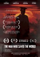 The Man Who Saved the World - Danish Movie Poster (xs thumbnail)