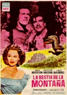 The Beast of Hollow Mountain - Spanish Movie Poster (xs thumbnail)
