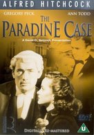The Paradine Case - British DVD movie cover (xs thumbnail)
