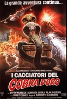 Cacciatori del cobra d'oro, I - Italian Movie Poster (xs thumbnail)