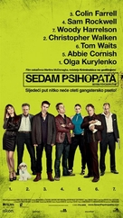 Seven Psychopaths - Croatian Movie Poster (xs thumbnail)