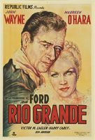 Rio Grande - Argentinian Movie Poster (xs thumbnail)