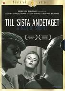 À bout de souffle - Swedish DVD movie cover (xs thumbnail)