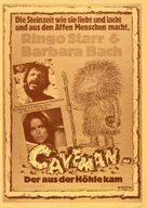 Caveman - German Movie Poster (xs thumbnail)