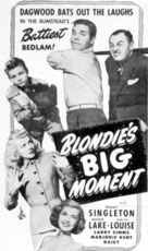 Blondie's Big Moment - poster (xs thumbnail)