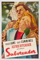 Saboteur - Argentinian Movie Poster (xs thumbnail)