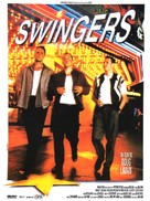Swingers - French Movie Poster (xs thumbnail)