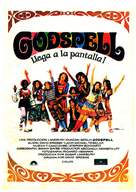 Godspell: A Musical Based on the Gospel According to St. Matthew - Spanish Movie Poster (xs thumbnail)