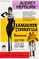 Breakfast at Tiffany's - Finnish Movie Poster (xs thumbnail)