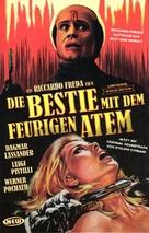 Iguana dalla lingua di fuoco, L' - German DVD cover (xs thumbnail)
