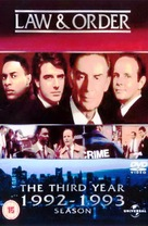 """Law & Order"" - British DVD movie cover (xs thumbnail)"