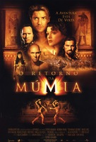 The Mummy Returns - Brazilian Movie Poster (xs thumbnail)