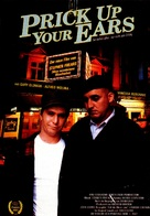 Prick Up Your Ears - German Movie Poster (xs thumbnail)