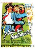 Je suis un sentimental - Belgian Movie Poster (xs thumbnail)