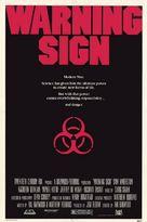 Warning Sign - Movie Poster (xs thumbnail)