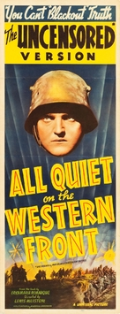 All Quiet on the Western Front - Re-release movie poster (xs thumbnail)