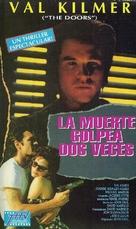 Kill Me Again - Argentinian VHS movie cover (xs thumbnail)