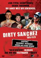 Dirty Sanchez: The Movie - German DVD cover (xs thumbnail)