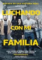 Fighting with My Family - Argentinian Movie Poster (xs thumbnail)