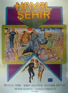 Logan's Run - Turkish Movie Poster (xs thumbnail)