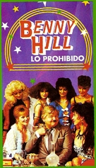 """""""The Benny Hill Show"""" - Argentinian VHS movie cover (xs thumbnail)"""