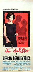 Thérèse Desqueyroux - Italian Movie Poster (xs thumbnail)