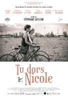 Tu dors Nicole - French Movie Poster (xs thumbnail)