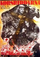 The Crusades - Swedish Movie Poster (xs thumbnail)