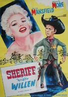 The Sheriff of Fractured Jaw - German Movie Poster (xs thumbnail)