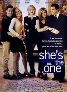 She's the One - German Movie Poster (xs thumbnail)