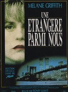 A Stranger Among Us - French Movie Poster (xs thumbnail)