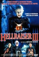 Hellraiser III: Hell on Earth - French Movie Cover (xs thumbnail)
