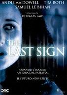 The Last Sign - Italian poster (xs thumbnail)