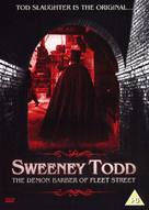 Sweeney Todd: The Demon Barber of Fleet Street - British DVD cover (xs thumbnail)