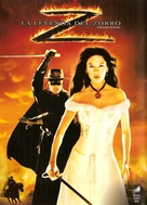The Legend of Zorro - Argentinian Movie Cover (xs thumbnail)