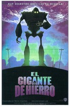 The Iron Giant - Spanish Movie Poster (xs thumbnail)