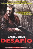 Defiance - Argentinian Movie Cover (xs thumbnail)