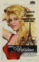 Une parisienne - Spanish Movie Poster (xs thumbnail)