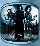 Underworld: Rise of the Lycans - Hungarian Blu-Ray cover (xs thumbnail)