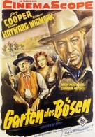 Garden of Evil - German Movie Poster (xs thumbnail)