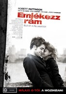 Remember Me - Hungarian Movie Poster (xs thumbnail)