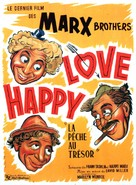 Love Happy - French Movie Poster (xs thumbnail)
