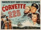 Corvette K-225 - British Movie Poster (xs thumbnail)