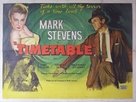 Time Table - British Movie Poster (xs thumbnail)