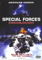 Special Forces - Finnish DVD cover (xs thumbnail)
