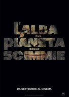 Rise of the Planet of the Apes - Italian Movie Poster (xs thumbnail)