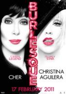 Burlesque - Malaysian Movie Poster (xs thumbnail)
