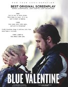 Blue Valentine - For your consideration poster (xs thumbnail)