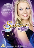 """""""Sabrina, the Teenage Witch"""" - British DVD cover (xs thumbnail)"""
