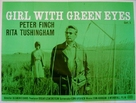 Girl with Green Eyes - British Movie Poster (xs thumbnail)
